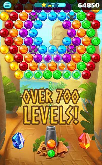 Arcade-Spiele Egypt pop bubble shooter für das Smartphone