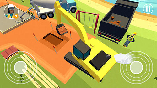 Dig in: An excavator game para Android