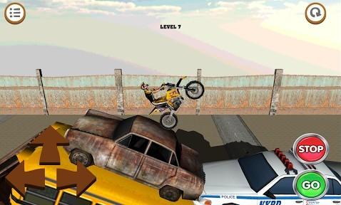 3D motocross: Industriel en russe