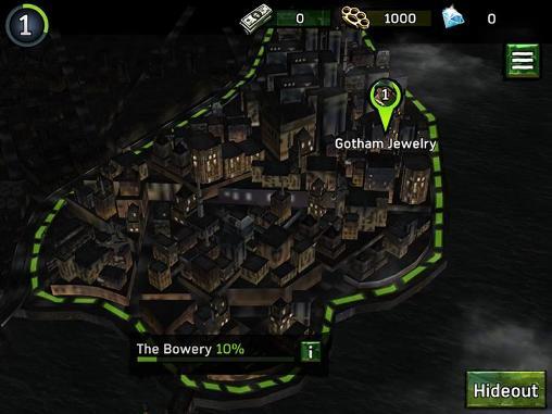 Onlinespiele Batman: Arkham underworld für das Smartphone