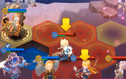 RPG Kingdom of hero: Tactics war für das Smartphone
