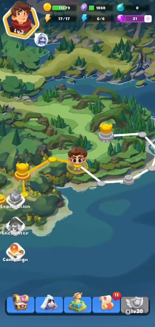 Puzzle Eudemon Tales captura de tela 1