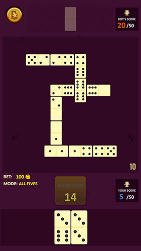 Dominoes: Offline free dominos game Screenshot-Spiel
