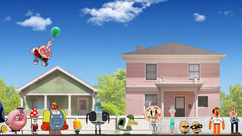 Arcade games: download Skip-a-head: Gumball to your phone