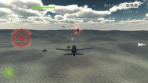Simulation games Airplane fighters combat for smartphone