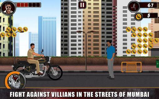 Arcade-Spiele Singham returns: The game für das Smartphone