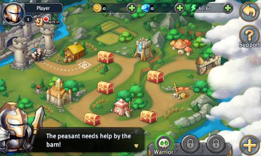 Heroes tactics and strategy für Android