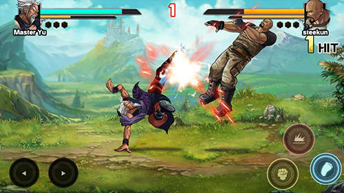 Mortal battle: Street fighter para Android
