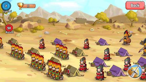 Spartania: The spartan war für Android