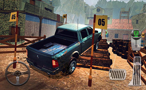 4x4 dirt off-road parking: Forest trials simulator скриншот 3