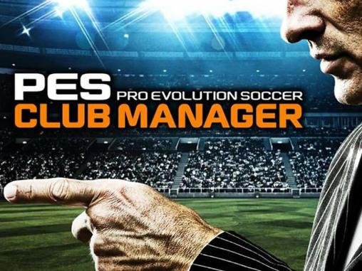 PES club manager capture d'écran