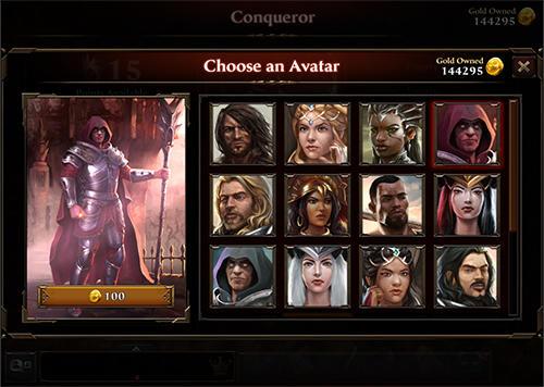 Fantasy Dark empire auf Deutsch