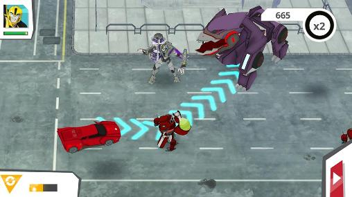 Transformers: Robots in disguise für Android