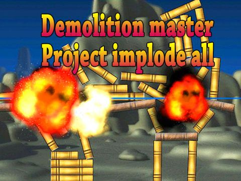 logo Demolition master: Project implode all