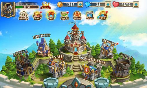 Online-Strategiespiele Clan war auf Deutsch