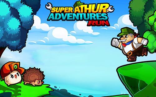 Super Arthur adventures run Symbol