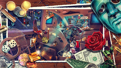 Hidden objects: Gangster rebellion. Crime scene für Android