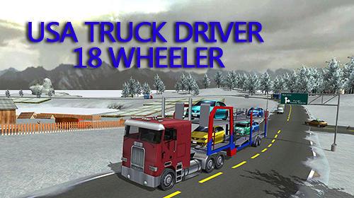 USA truck driver: 18 wheeler capture d'écran 1