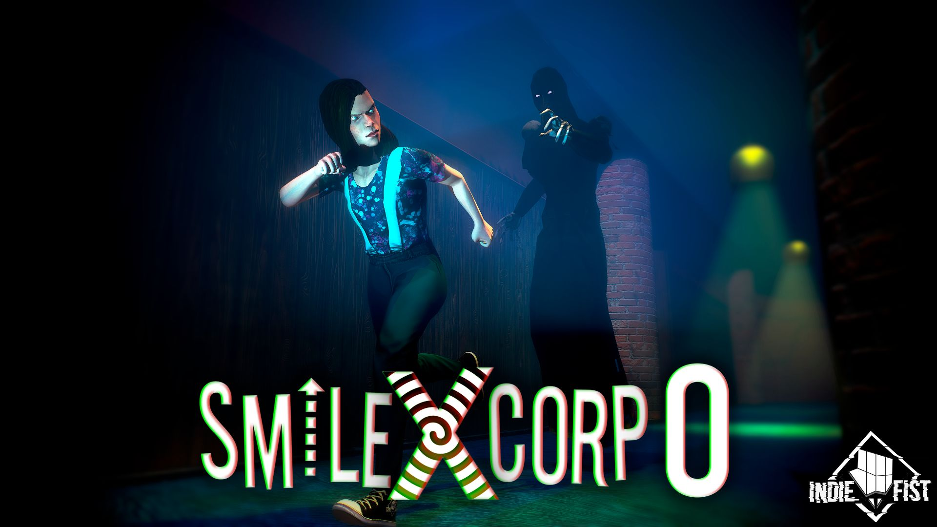Smiling-X Zero: Classic scary horror game captura de pantalla 1