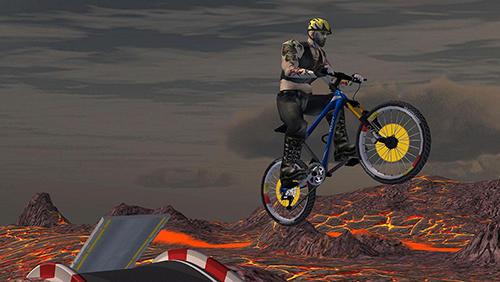 Rennspiele AEN downhill mountain biking für das Smartphone