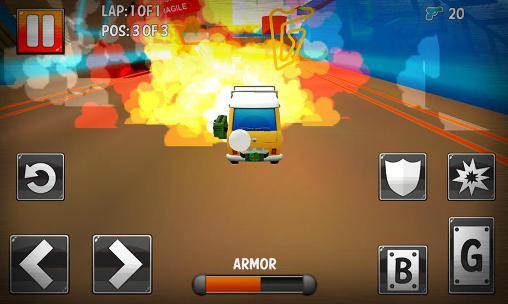 Rennspiele Turbo toys racing für das Smartphone