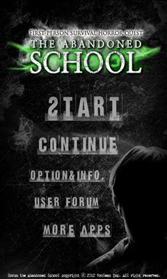 The abandoned school screenshot 1