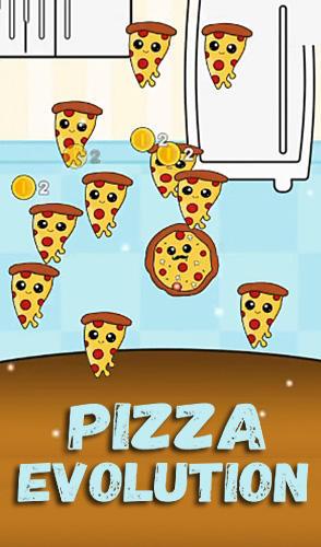 Pizza evolution: Flip clicker captura de tela 1