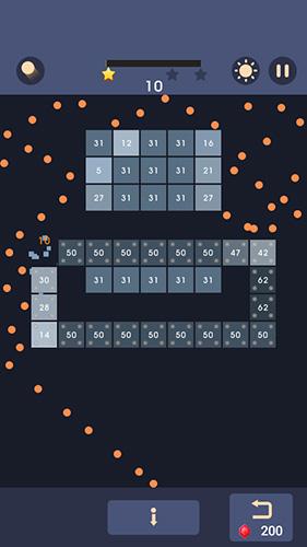 Spiele mit Bällen Bricks n balls auf Deutsch