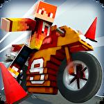 Top motorcycle climb racing 3D Symbol