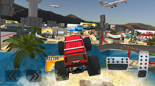 Monster truck XT airport derby pour Android