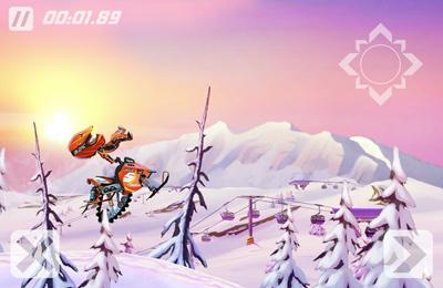 Заезд на Снегоходах