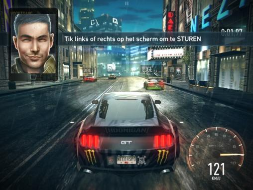 Racing Need for speed: No limits for smartphone