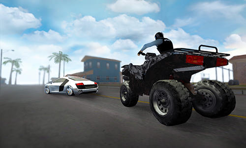 Police quad chase simulator 3D screenshot 3