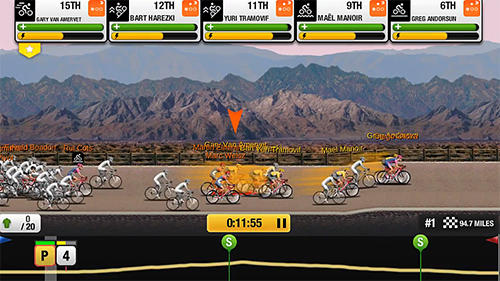 Tour de France: Cycling stars. Official game 2017 für Android
