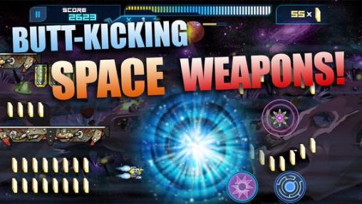 Raketen-Läufer für iPhone