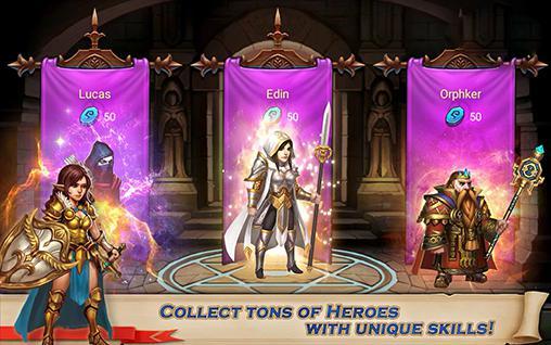 RPG-Spiele Kingdom legends für das Smartphone