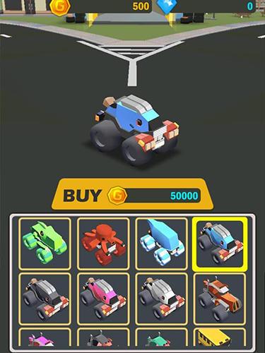 Rennspiele Monster truck.io für das Smartphone