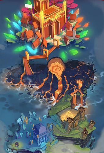 Brettspiele Super spell heroes für das Smartphone