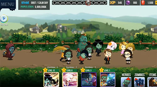 Arcade Zombie corps: Idle RPG for smartphone