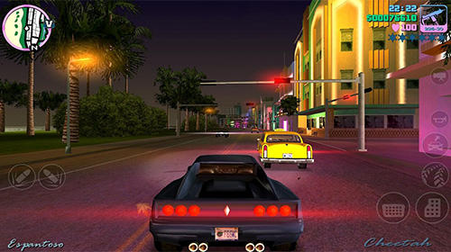 Open world games Grand theft auto: Vice City in English