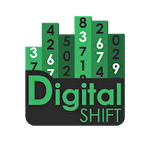 Digital shift icono