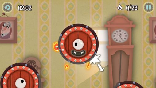 Juegos de arcade Pyro jump para teléfono inteligente