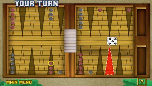 Onlinespiele Backgammon: Deluxe auf Deutsch