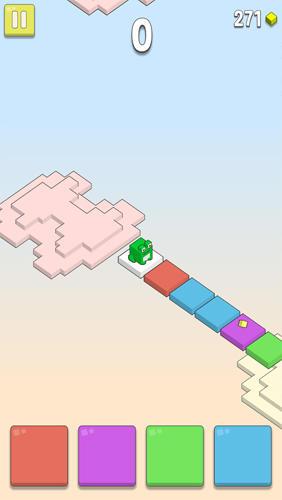 Arcade-Spiele Rainbow clouds für das Smartphone