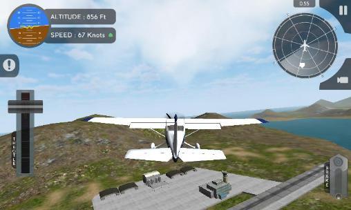 Capturas de tela de Simulador de voo de avião 2015