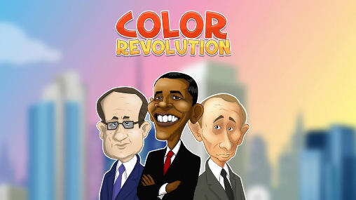 Color revolution icon
