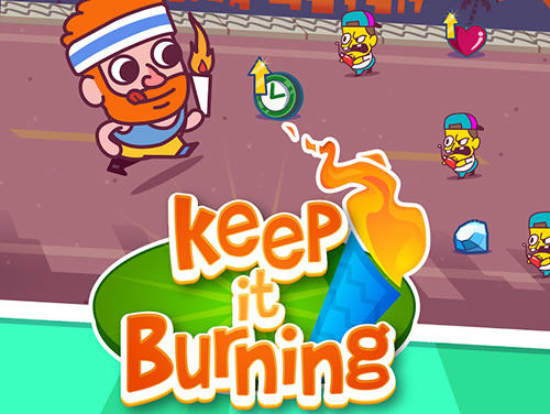 Keep it burning! The game icono