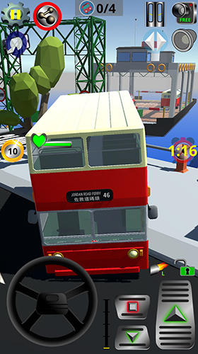 Vintage bus go Screenshot