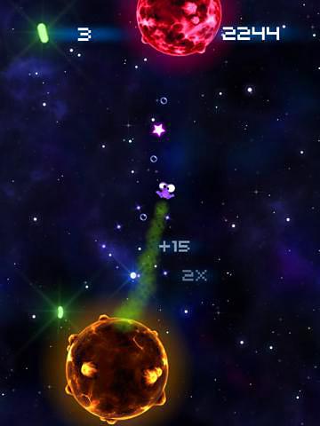 Screenshot Weltraum Furz auf dem iPhone
