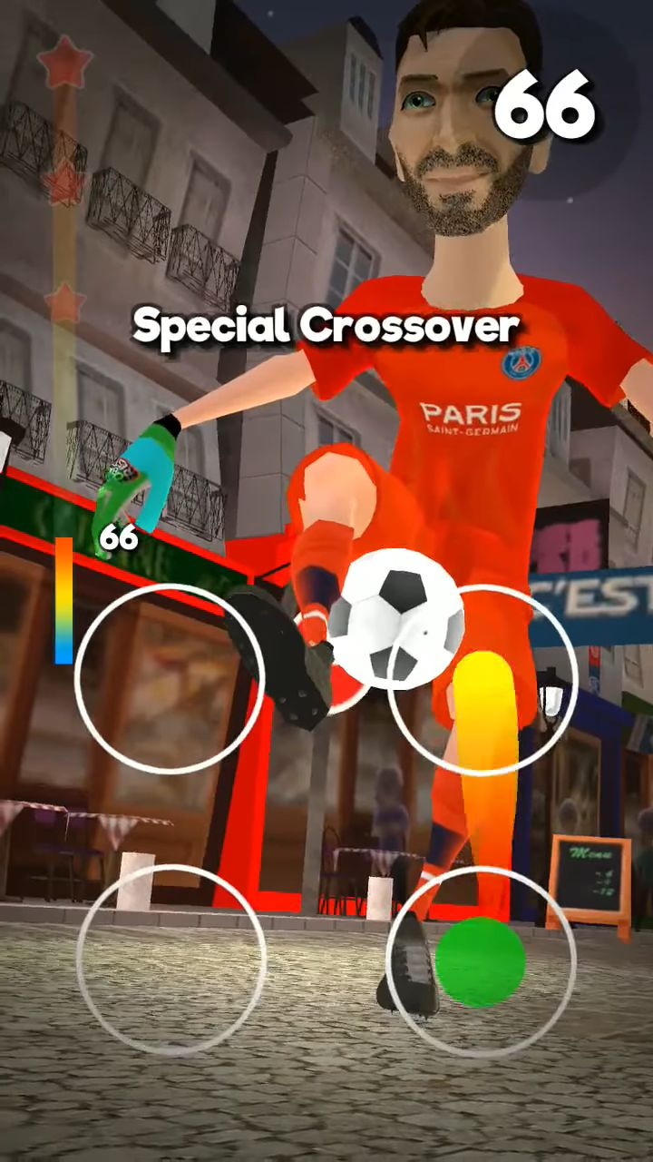 PSG Soccer Freestyle captura de pantalla 1